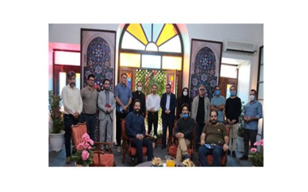 بازدید مدیر شبکه قرآن از پشت صحنه طرح ملی، قرآنی ۱۴۵۴